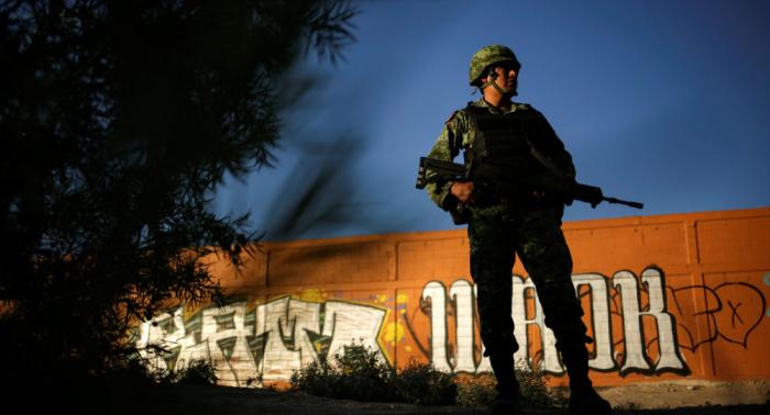 Enfrentamiento en sur de México deja 14 civiles y un militar muertos