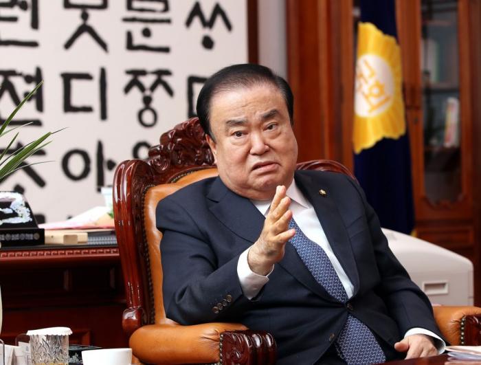 Presidente del parlamento surcoreano llega a Azerbaiyán