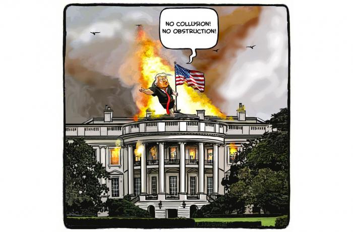 «Ni collusion! Ni obstruction!»