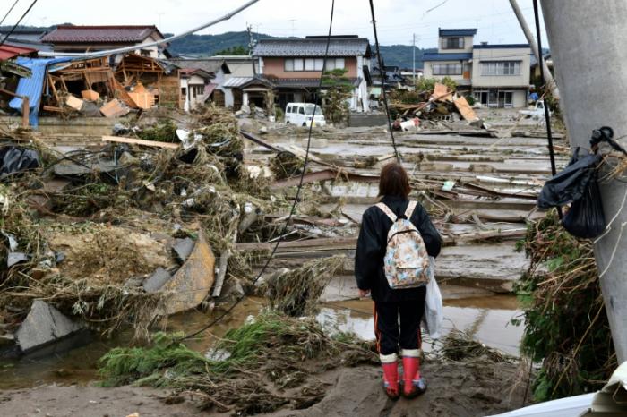 Typhon au Japon: le gouvernement débloque une aide d