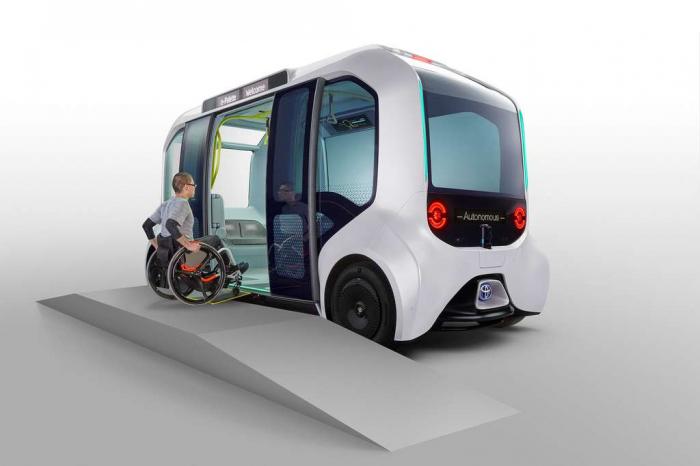 JO de Tokyo 2020:  Toyota dévoile sa navette électrique autonome