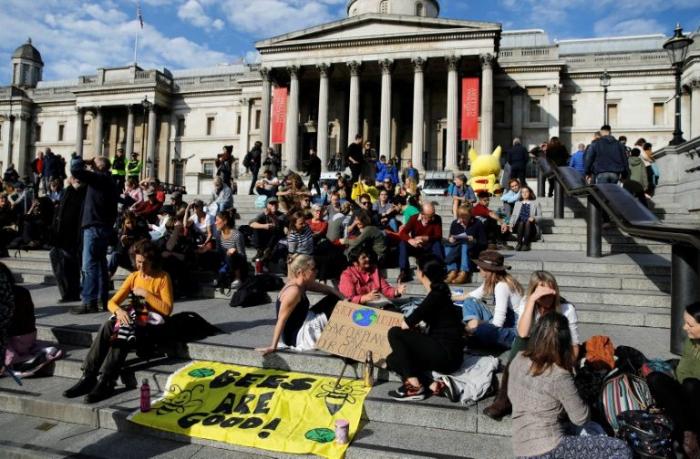 Extinction Rebellion targets London Underground
