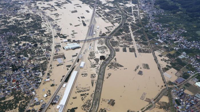 VIDEO: El tifón Hagibis derramó en un río el contenido de bolsas con residuos radiactivos de la central nuclear Fukushima