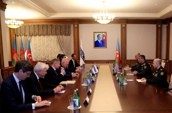 Azerbaijani Defense Minister receivesOSCE Minsk Group Co-Chairs