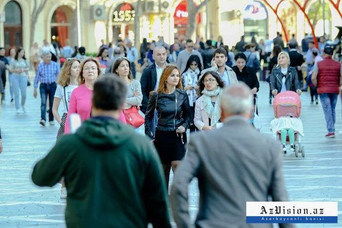 La population de l'Azerbaïdjan a augmenté de plus de 53 mille personnes depuis début 2019