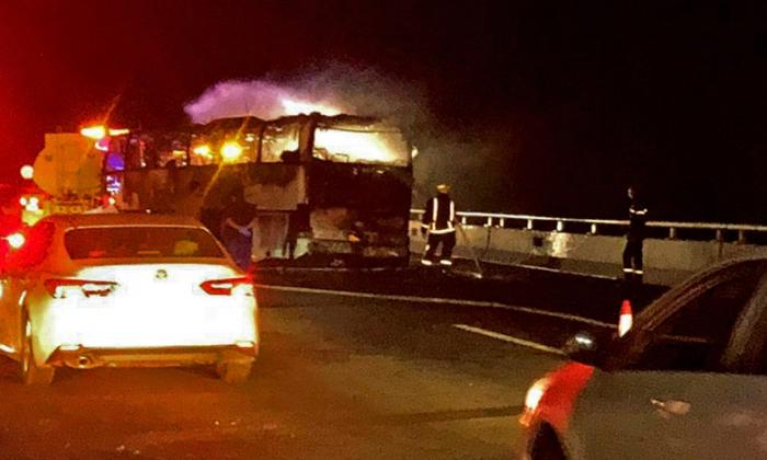 Arabie:   35 morts dans la collision entre un autocar et un engin de chantier