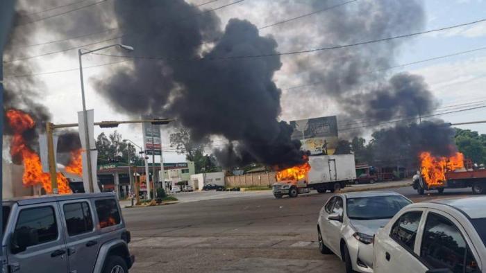 El caos se apodera de Sinaloa tras la detención y posterior liberación de un hijo de El Chapo