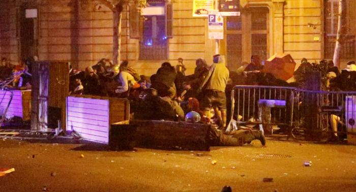 Cataluña vive una cuarta noche consecutiva de disturbios