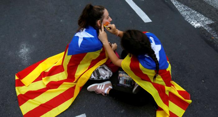 Cataluña amanece con importantes cortes viarios por la huelga general