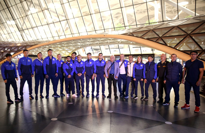 Azerbaijan's CSKA athletes leave for 7th Military World Games