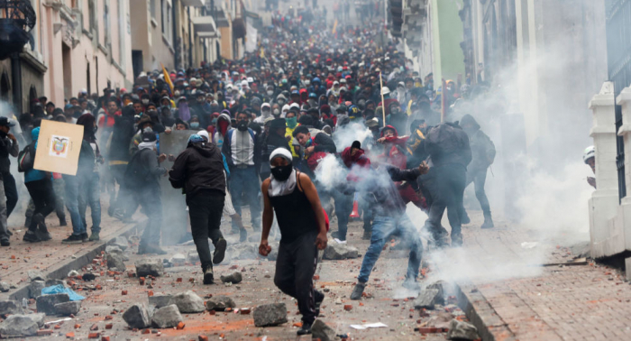 Nach Protesten in Ecuador: Behörden vermuten Einflüsse aus Venezuela und Russland