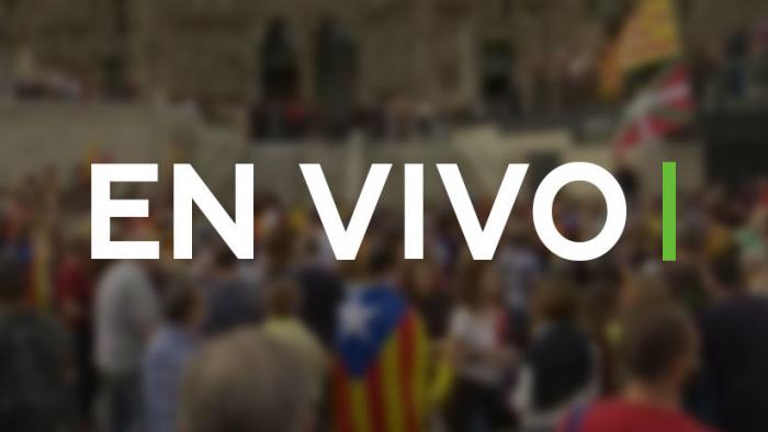 EN VIVO: Protestas frente a la Sagrada Familia durante la huelga general en Cataluña
