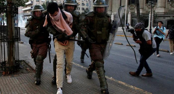 Chile declara el estado de emergencia tras una semana de protestas