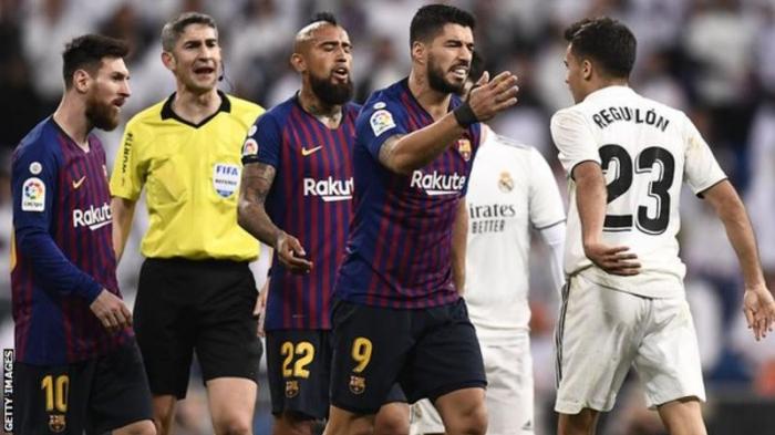 El Clasico: Barcelona v Real Madrid postponed because of fears over civil unrest