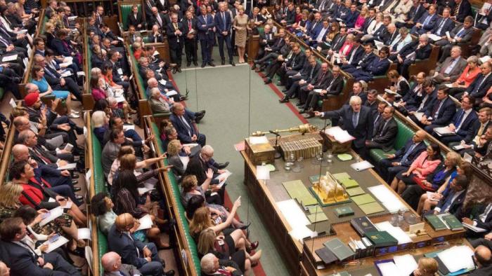 La calculadora de Boris Johnson:   así están los apoyos a su Brexit en el Parlamento británico
