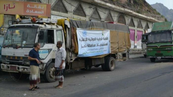 Arabia Saudí bombardea caravana de ayuda humanitaria en Yemen