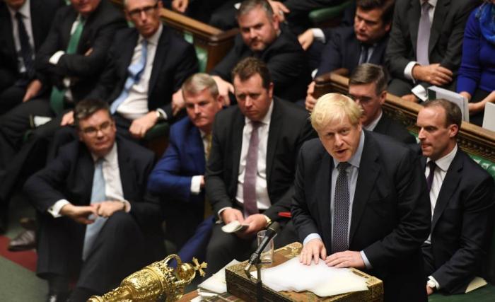 Johnson volverá a intentar este lunes que el Parlamento apruebe su Brexit
