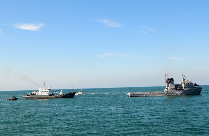 Azerbaijani Naval Forces wrap up tactical exercises -   VIDEO