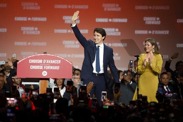 Canada election: Trudeau