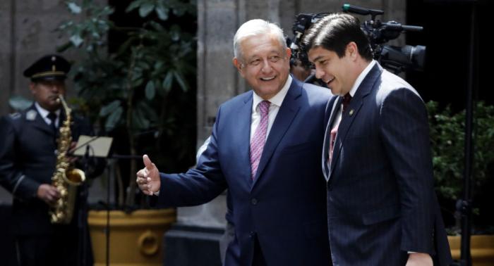 Presidentes de México y Costa Rica se reúnen para impulsar relación bilateral