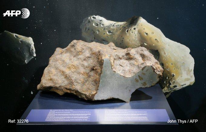Une météorite de 364kg découverte dans les Ardennes va être vendue aux enchères à Paris