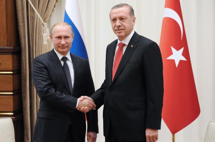 Sotchi :  début de la réunion Erdogan-Poutine