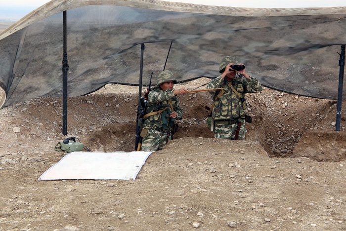 Azerbaijan's Combined Arms Army conduct training sessions -  VIDEO
