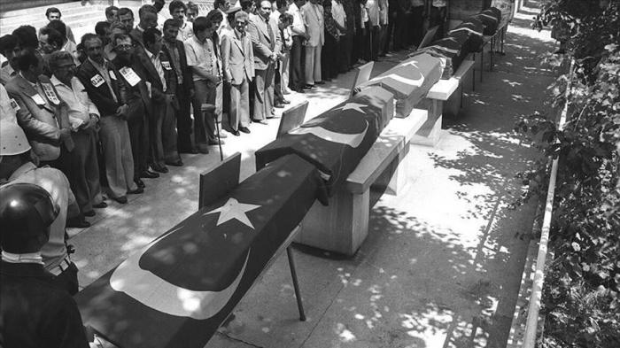 Armenian terrorists killed 31 Turkish envoys since 70s