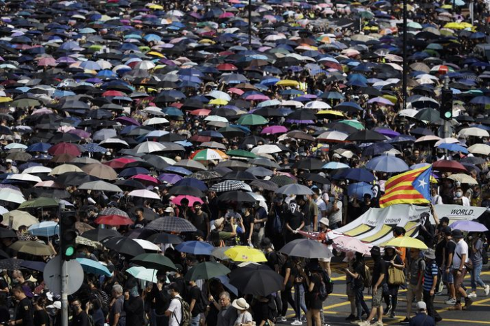 Hong Kong protesters to rally in support of Catalan activists