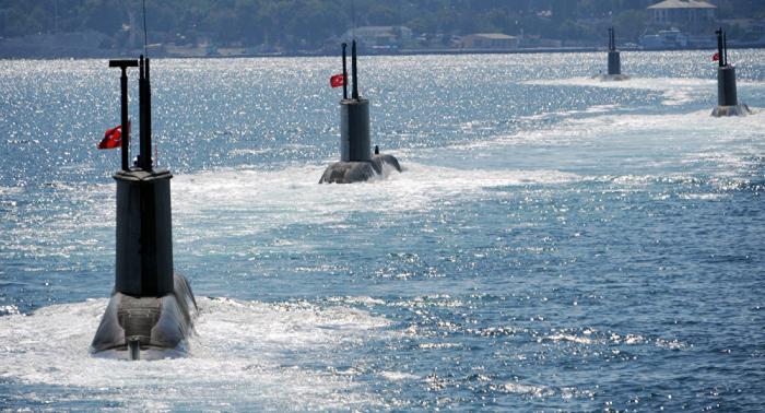 Turquía se dispone a botar el primer submarino de fabricación propia para 2040