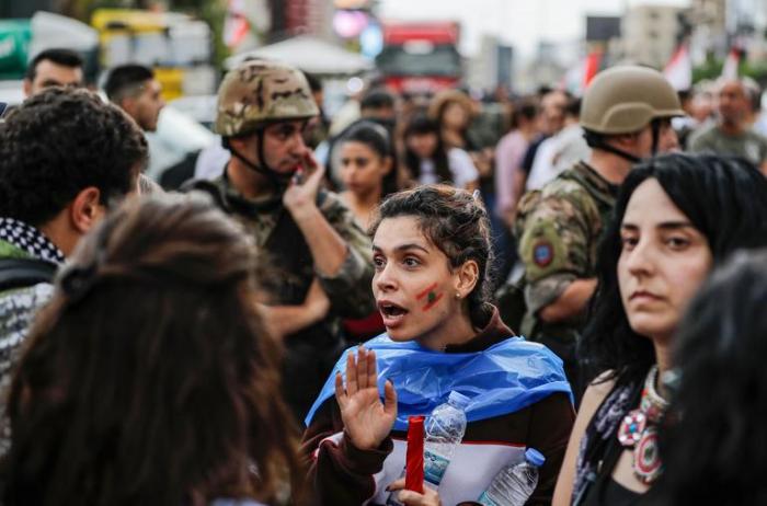 Liban: la mobilisation se poursuit malgré le déploiement de l