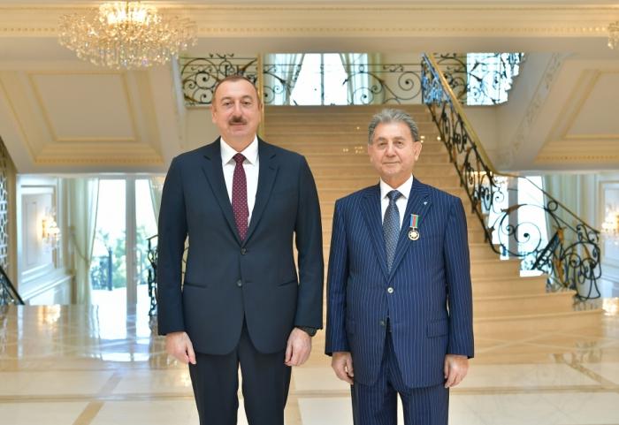 Prezident Akif Əlizadəni qəbul etdi — FOTOLAR