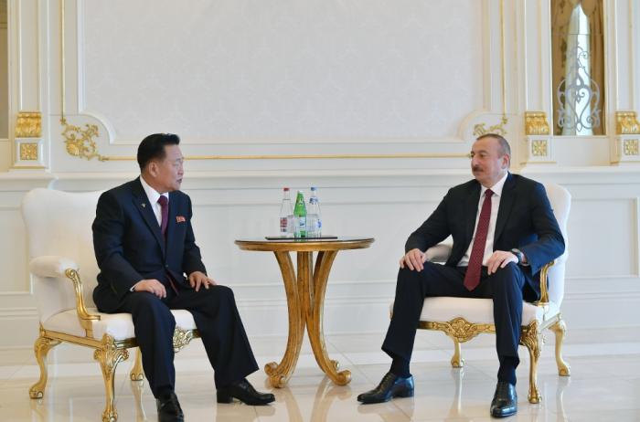 Prezident Koreya nümayəndə heyətini qəbul edib - Yenilənib