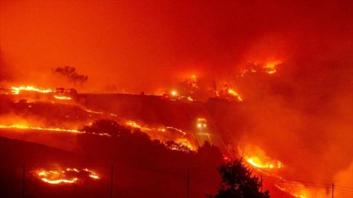 Incendio devora el norte de California (EEUU)