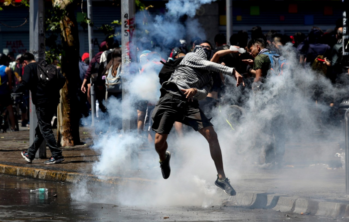 Protests continue in Chile despite reforms promise-  NO COMMENT