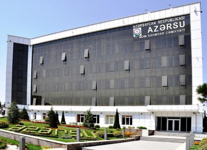 """""""Azərsu"""" abonentlərə müraciət edib"""