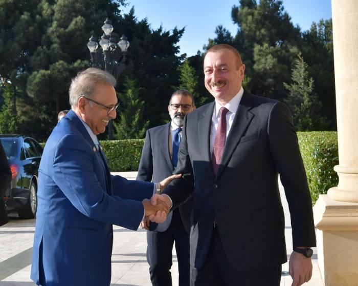 Azərbaycan və Pakistan prezidentlərinin görüşü - FOTOLAR (Yenilənib)