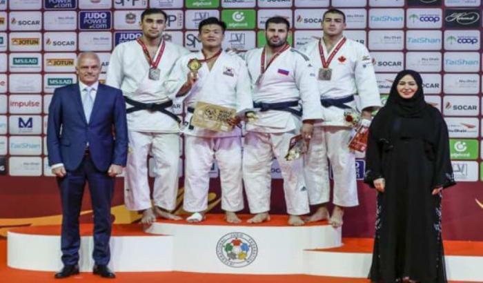 """Azərbaycan cüdoçuları """"Böyük dəbilqə""""də 3 medal qazanıb"""