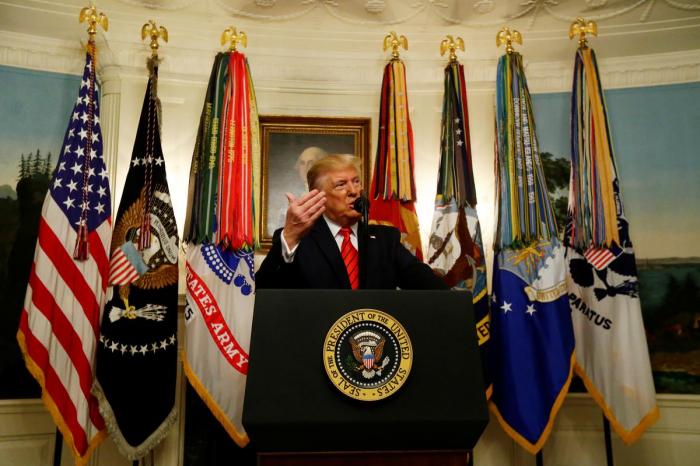 Trump says Islamic State leader Baghdadi dead in U.S. forces raid