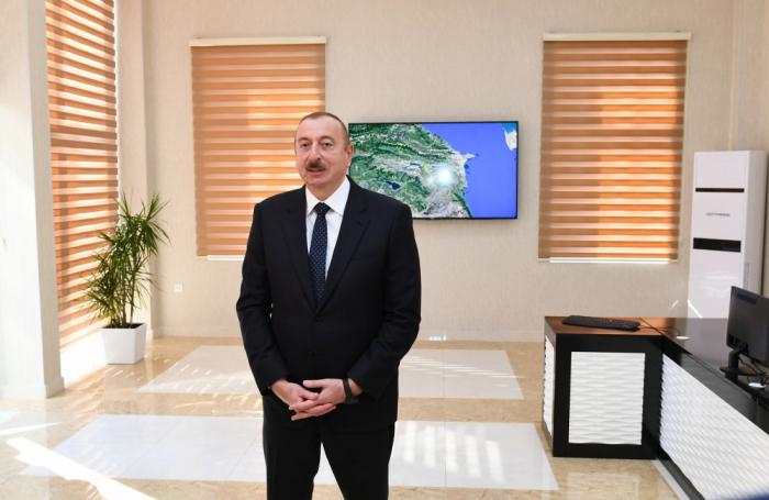 """İlham Əliyev: """"Vətəndaşlara xidmət etmək bizim borcumuzdur"""""""