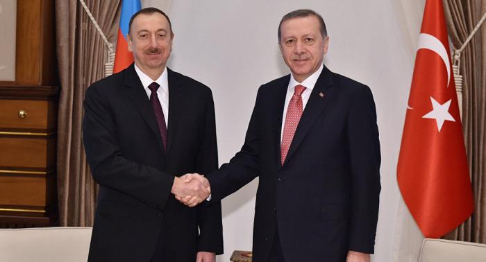 President Ilham Aliyev congratulates Turkish counterpart Erdogan