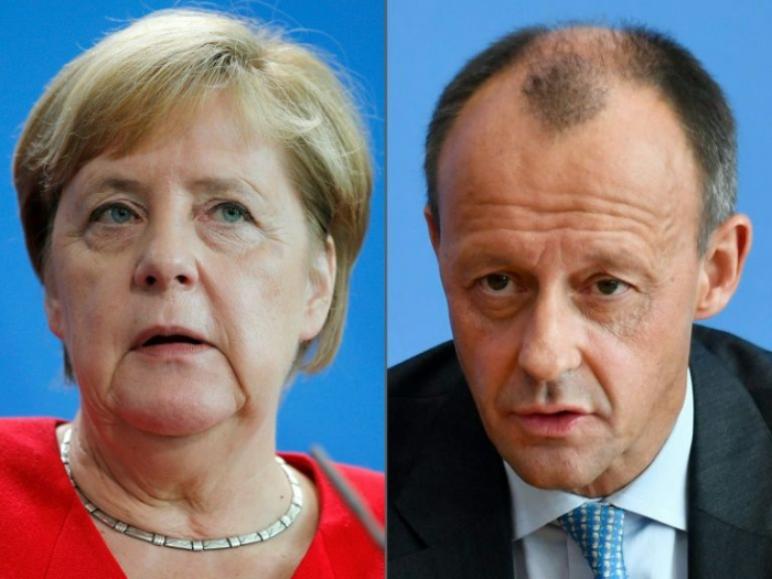 After far-right poll gains, knives out again for Merkel