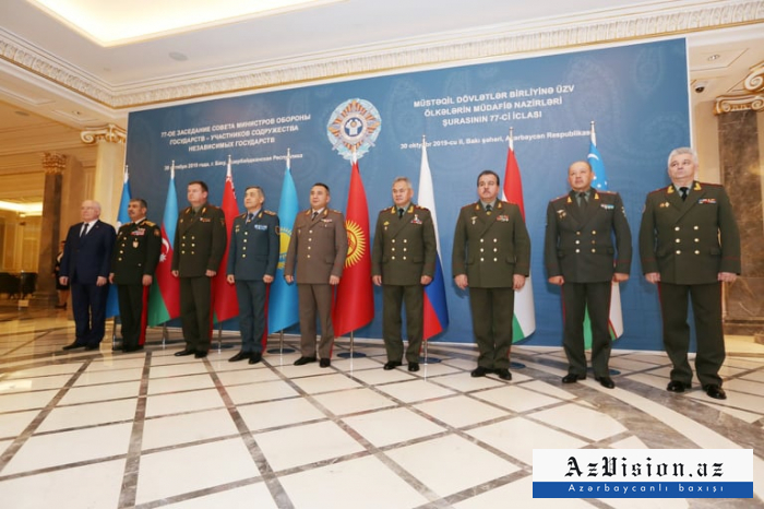 Meeting of CIS Council of Defense Ministers kicks off in Baku