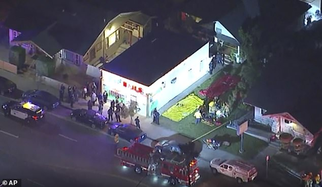 Three killed in mass shooting 'at Halloween party' in California