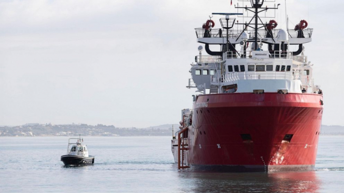 Migrant rescue ship 'Ocean Viking' arrives in Sicily after nearly 2 weeks blocked at sea