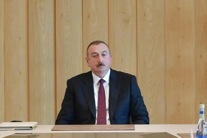 """İndiki iqtisadi artım templəri məni qane etmir"" - Prezident"
