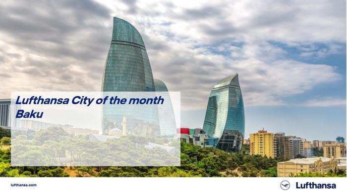 الخطوط الجوية الدولية اختارت باكو كما مدينة الشهر