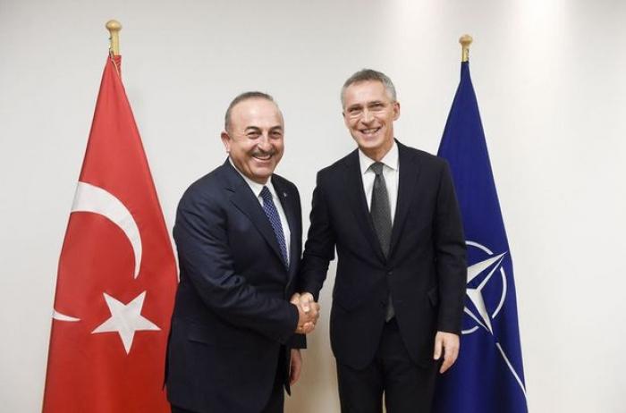 Çavuşoğlu ilə Stoltenberqin Suriya müzakirəsi