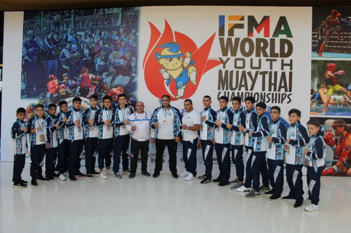 Azerbaijani Muay Thai fighters bring home seven medals from IFMA Youth World Championships