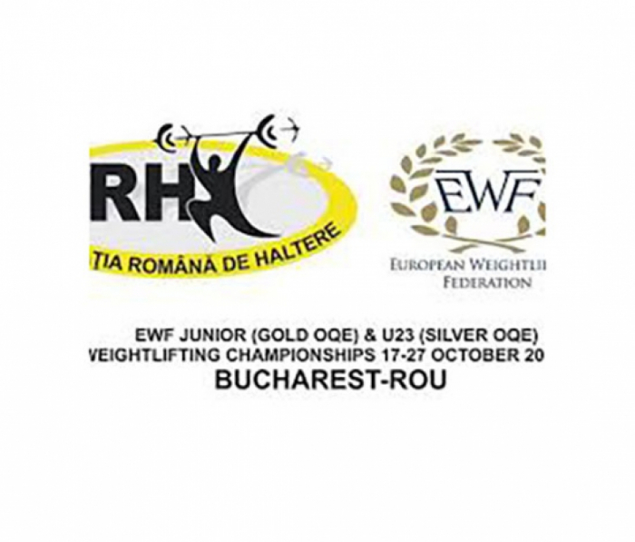 Azerbaijani weightlifters to vie for medals at European Junior & U23 Championships